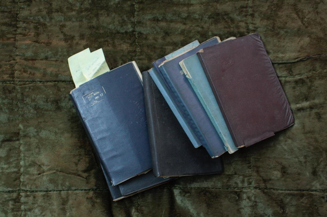 Notebooks of Prabhjot Kaur