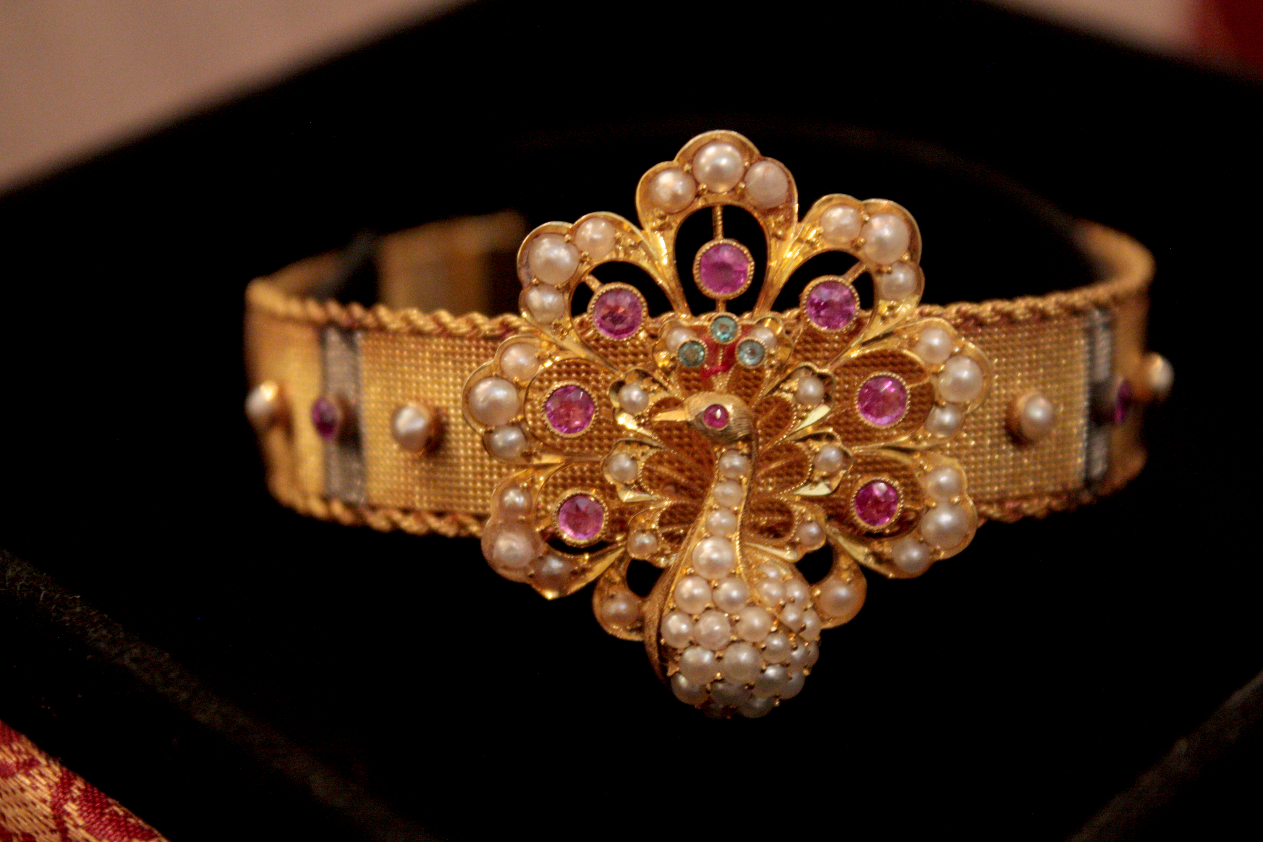 Rajni Malhotra_Amrit Vij_peacock bracelet_bought from an Englishman in Lahore in 1930